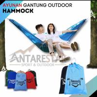 Hammock Tempat Tidur Ayunan Kasur Gantung Camping Outdoor