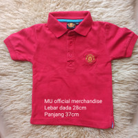 manchester united official merchandise preloved t shirt anak laki