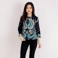 Baju Batik Wanita/Atasan Batik Wanita A569 Motif Merak