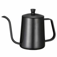 One Two Cups Coffee Maker Pot Long Drip Teko Kopi Barista 600ml - 8408