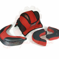 Busa Helm Full Set KYT DJMARU (Kancing besi)