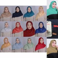 ZOYA Voal Scarf - Kerudung Hijab Segi Empat Polos Branded Original