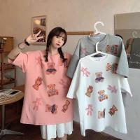 Kaos T Shirt Terbaru Fashion Cotton Motif Printing Cat Pussy Pendek