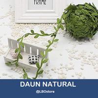 Daun Rambat Artificial Natural Tali / Greenery Garland Artificial Leaf