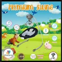 Mastela Premium Swing Sheep Dark Blue Kursi Ayun Bayi