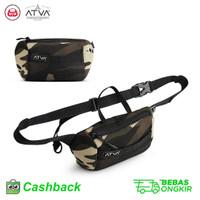 Tas Waist Bag Waistbag Tas Pinggang Wanita Kanvas Army Murah Premium
