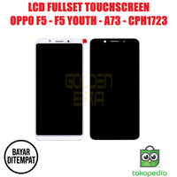 LCD OPPO F5 F 5 YOUTH A73 CPH1723 FULLSET TOUCHSCREEN BISA KONTRAS AAA