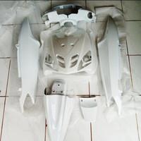 Cover body halus yamaha mio sporty warna putih