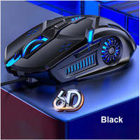 Mouse Gaming Wired G5 Kabel 6D 4-Speed 3200 DPI RGB