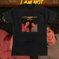 KAOS FILM I AM NOT OKAY WITH THIS SHIRT SYDNEY STANLY BARBER BAJU PRIA