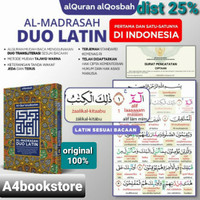 Al Quran Al madrasah Duo Latin A5 Hafazan Al qosbah