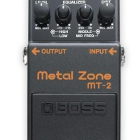 Effect efek gitar stompbox boss mt2 metal zone