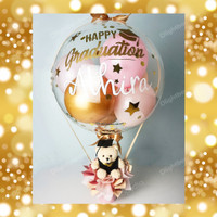 Balon Bouquet Graduation/ Kado Graduation