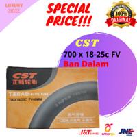 CST Ban Dalam Sepeda 700 x 18-25c FV 48mm Presta Fixie Balap Roadbike