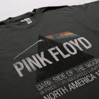 PINK FLOYD NORTH AMERICA TOUR 1972 KAOS BAND ORIGINAL TSHIRT TULTEX - M