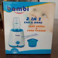 Bambi 2in1 Car & Home Baby Bottle & Food Warmer Penghangat Botol Susu