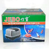 Jebo P50 P 50 Pompa Udara Air Pump Blower Aquarium Hi Flow Aerator