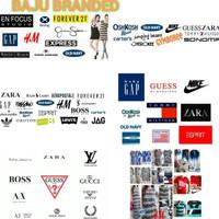 Laris Baju Branded Paket Ball Untuk Buka Toko Pameran Bazar Karungan