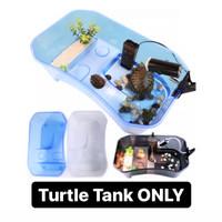 Turtle tank vivarium bak kandang enclosure aquarium kura air brazil M