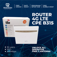 Router 4G LTE CPE B315 Unlock All Operator Free 2 Antena