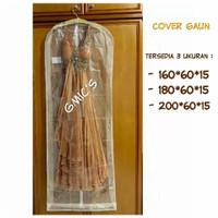 Cover pelindung gaun pengantin baju kebaya dress - 160*60*15