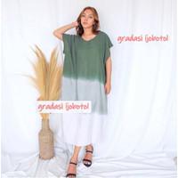 Daster Bali JUMBO Rayon Katun Baju Tidur Santai Rumah Rumahan Wanita