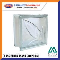 GLASSBLOCK / GLASSBLOK / GLASS BLOCK MULIA GLASSBLOCK AYANA 95081