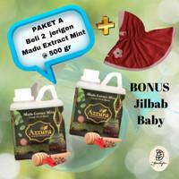 BUNDLING PAKET MADU A 2 Pcs Madu Azzura + Bonus Hijab Baby Permata