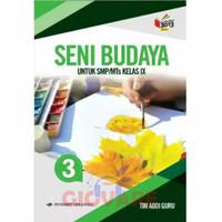 BUKU SENI BUDAYA SMP KELAS 9 ERLANGGA | KELAS 3 SMP KURIKULUM 2013