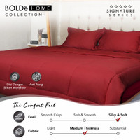 BOLDe Home 220X230 Bedcover Signature Maroon