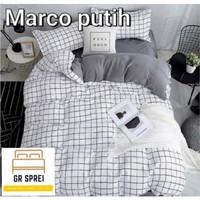 SPREI SET BED COVER KATUN PREMIUM terbaik size 140x200 T 30