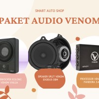 Paket Audio Sound Quality Venom Exodus Oem Lengkap Audio Venom Pandora
