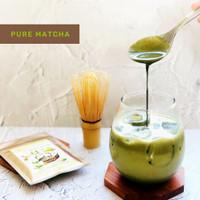 100% pure uji matcha japan / green tea matcha bubuk /