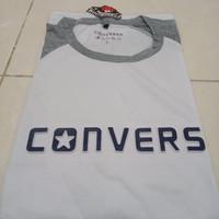 kaos cowok cotton combed CONVERS
