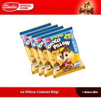 Choco Chip Cereal SIMBA - 4 Pillow Cokelat 80gr + 25% Extra