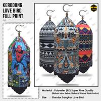Kerodong Lovebird Fullprint Original