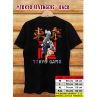 Baju / Kaos Digital Printing / Tokyo Revengers /Sano Manjiro 01