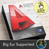 MAC OS AutoCAD 2019 Big Sur Catalina Mojave Software Rendering Arsitek