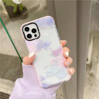 Pastel cloudy softcase lucu simpel kekinian phone 12 PRO MAX - 12