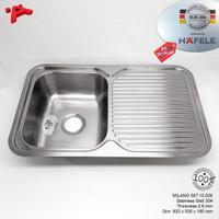 HAFELE Kitchen Sink W.820mm Stainless 304 0.8mm Bak Cuci Piring ExDisp