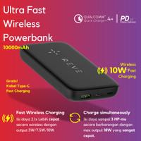 Reve 10000mAh Fast 10W Wireless Powerbank 22.5W Output, QC4.0 + 20W PD