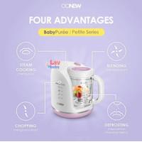 Oonew Petite baby pure Food Processor 4in1 steamer blender