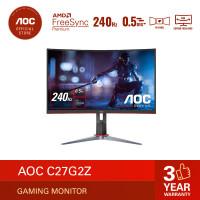 AOC C27G2Z FreeSync Premium Curve Gaming Monitor (27/VA/0.5ms/240Hz)