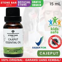 15mL Cajeput Essential Oil Aroma Terapi Aromatherapy Minyak Kayu Putih