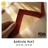 Alas Tatakan Adonan - Non-Stick Silicone Baking Mat Silmat