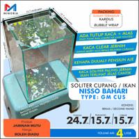 Aquarium / Soliter Cupang - Nisso Bahari Glassmate Tipe CUS