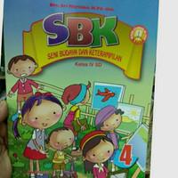 Buku SBK Seni Budaya dan Keterampilan Kelas 4 SD KTSP 2006 Yudhistira