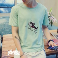 BISA COD - XXMAKE 2Pcs XXC102 Kaos T-shirt Pria Polos Korea Japan