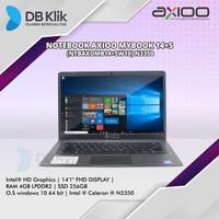 Notebook AXIOO Mybook 14+S (NTBAXOMB14+SW10) N3350 4G 256G W10 PRO 14