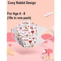 Masker 3D Greennose Japan Balita (Line Cony Rabbit )